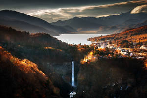 Chuzenji Lake and Kegon Falls by palmbook