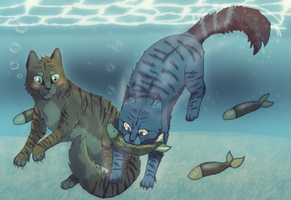 Underwater Training by BabyJ13