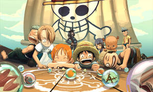 One Piece Marble Play