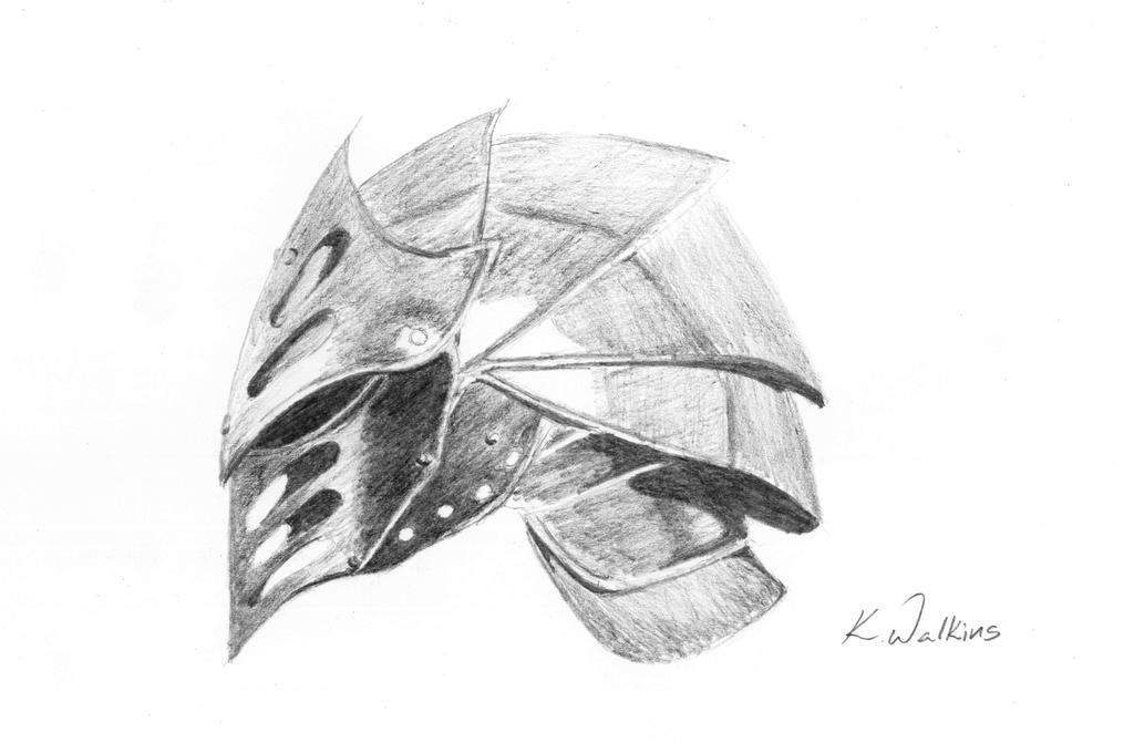 Knight Helmet by xerotolerant on DeviantArt