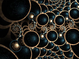 Sapphire Charm by Platinus