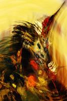 Romanticizing the Death of a Unicorn by Platinus