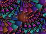 Marti Gras Glass by Platinus