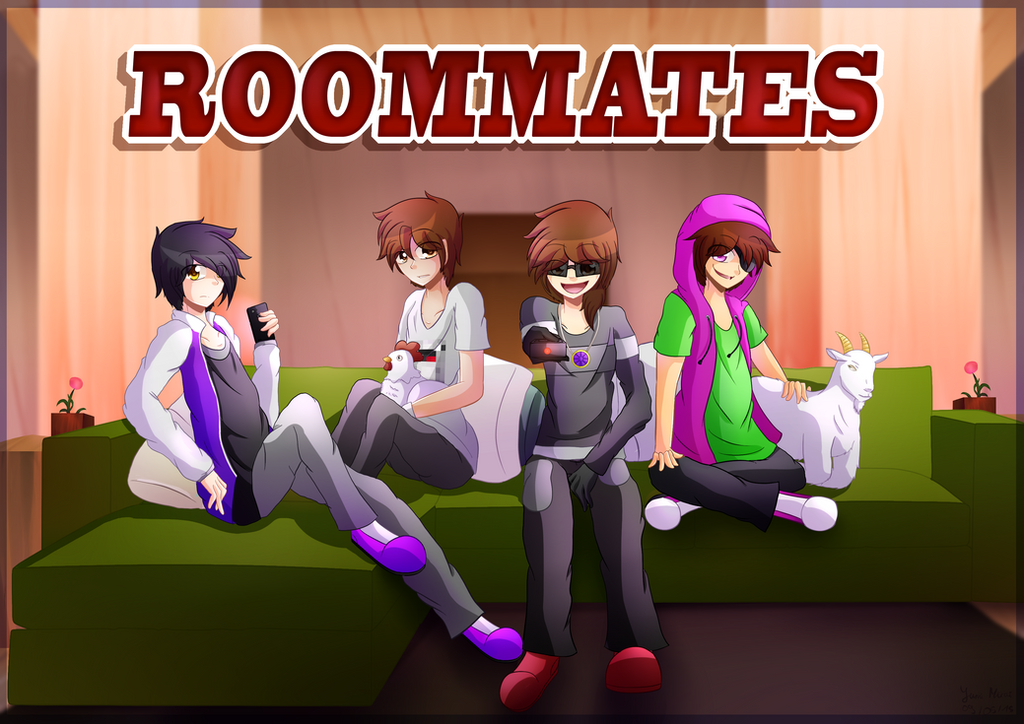 Skythekidrs roommates decor