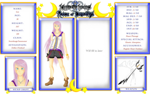 Race of Dreams Tournament Application: Lea by Serenity12778