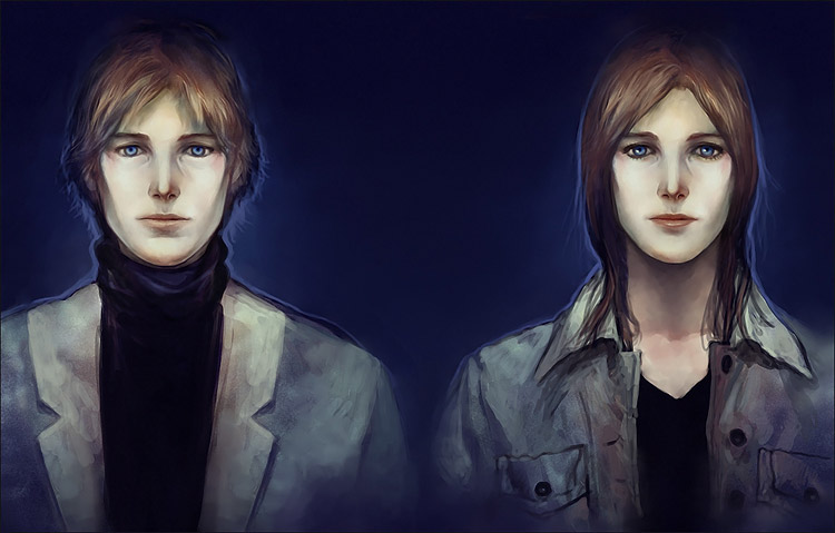 Twins by Smirtouille