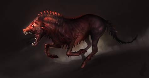 Hellhound by Smirtouille