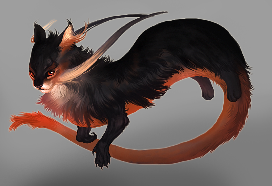 Adult Dragon by Smirtouille