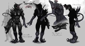 Character sheet: Narval