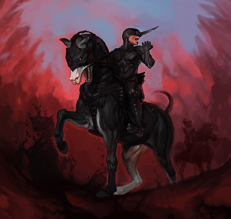 Diabolic boss by Smirtouille