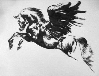 Quick Horse Ink 4 by Smirtouille