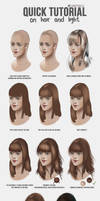 Quick Hair and Light Tutorial