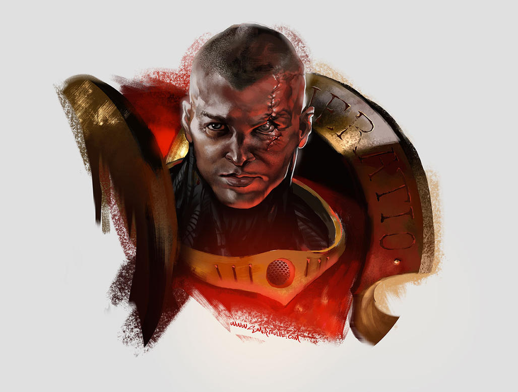 Space Marine by Smirtouille