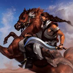 Khal Drogo by Smirtouille