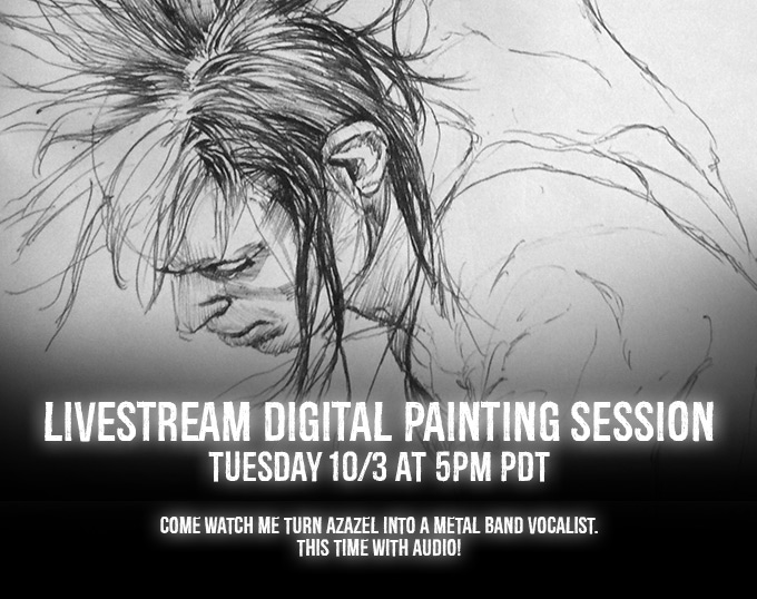 Livestream-art-session-3 by Smirtouille