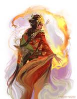 Phoenix Shugenja by Smirtouille