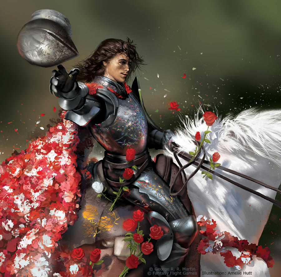 The Knight of Flowers by Smirtouille