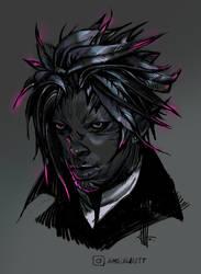 GW2 Sylvari Character Portrait by Smirtouille
