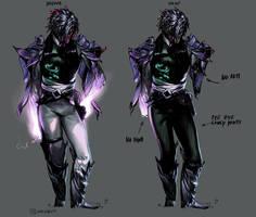 Character Sheet : Darius by Smirtouille
