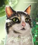 Ziggy the cat =^..^= (commission)