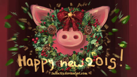HAPPY NEW 2019~ by 1NFIN1TY