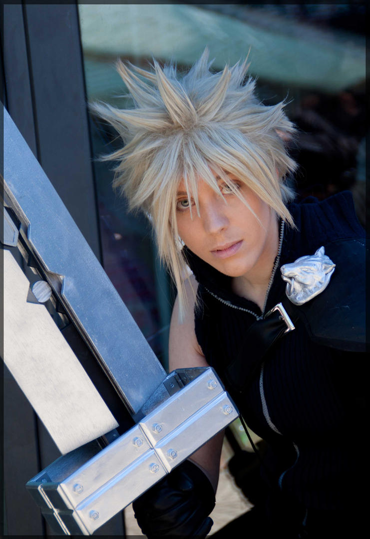 Cloud Strife : Mercenary by Wanderkitsun3