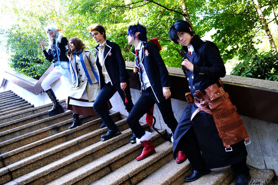 Ao no Exorcist ~ Legacy by Wanderkitsun3