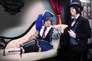 Kuroshitsuji ~ Welcome to the Circus by Wanderkitsun3
