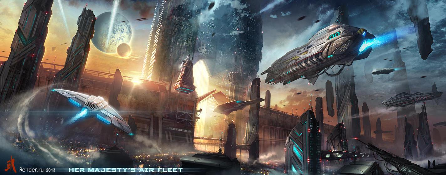 Air Fleet by SergeyZabelin