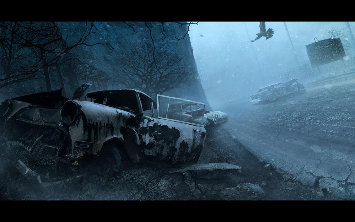 Silent hill by SergeyZabelin