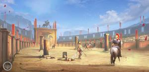 Arena. Tightrope Games