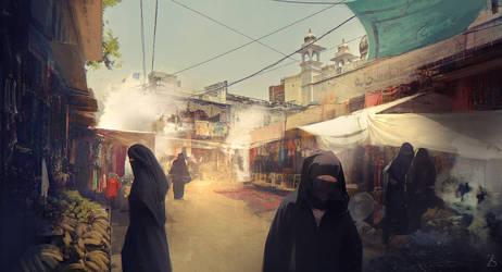 Eastern Market by SergeyZabelin