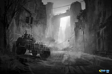 Sketches for Five_BN game studio. by SergeyZabelin