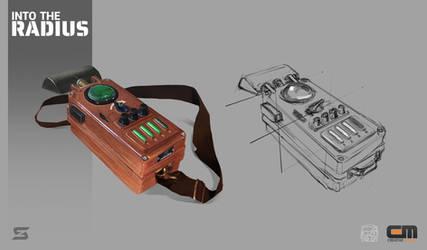 INTO THE RADIUS. Anomaly detector