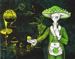 Life Cycle of a Mushroom