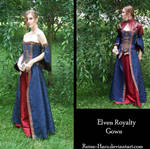 Elven Royalty Gown Complete
