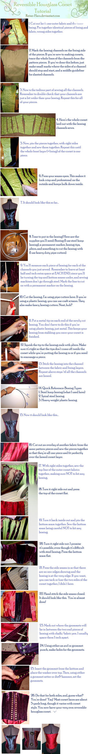 Reversible Corset Tutorial by Reine-Haru