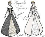 Masquerade Gown Designs