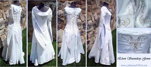 Elven Snowdrop Gown