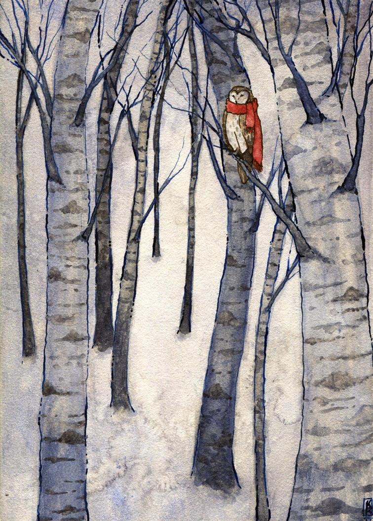 Winter Forest by Reine-Haru