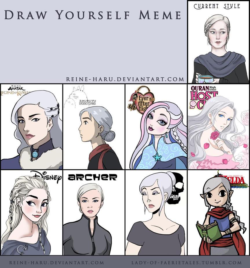 Draw Yourself Meme by Reine-Haru