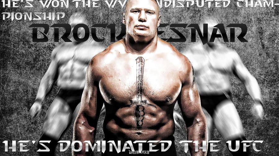 New Brock Lesnar WWE Wallpaper By Cmpunkster
