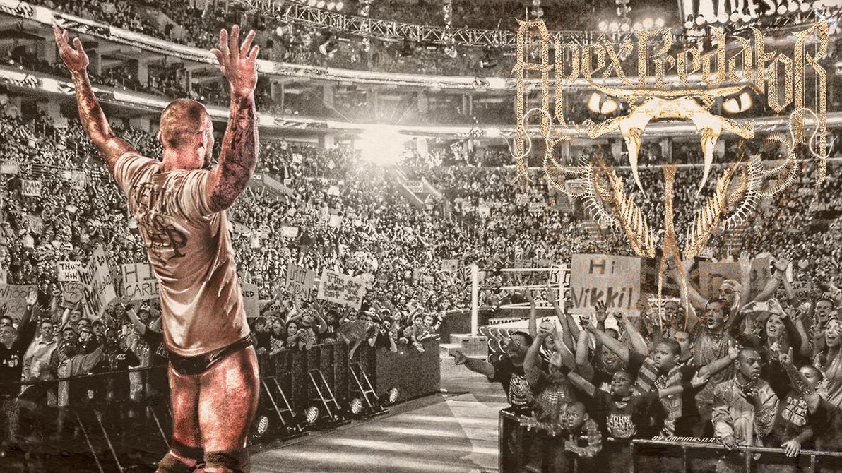 Randy Orton: The Apex Predator Wallpaper HQ by cmpunkster