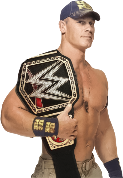 John Cena WWE World Heavyweight Champion V1 By Cmpunkster