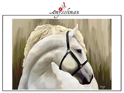 horse by emyemoos