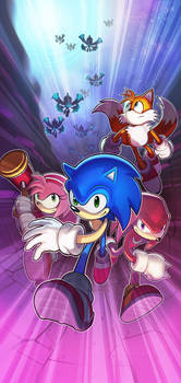 Sonic Chronicles Poster