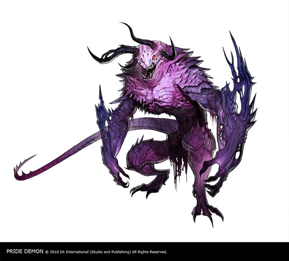 Dragon Age 2 Pride Demon by joy-ang