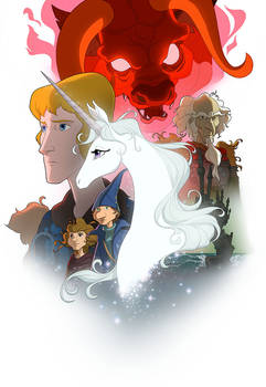 The Last Unicorn Canadian Screening Tour Poster