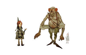 Jack and the Ogre by joy-ang