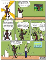 Ninja Critic Comic 2 by clinteast